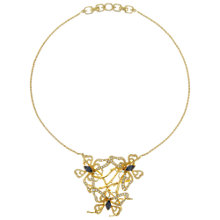 Buy Eclectica Vintage 1970s Grosse Butterfly Necklace, Gold Online at johnlewis.com