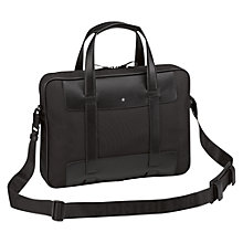 Buy Montblanc Nightflight Slim Document Case, Black Online at johnlewis.com