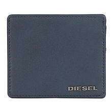 Buy Diesel Johnas Leather Card Holder, Blue Online at johnlewis.com