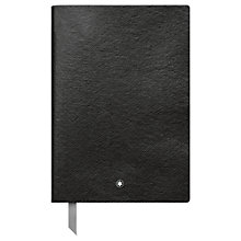 Buy Montblanc #146 Leather Squared Note Book Online at johnlewis.com