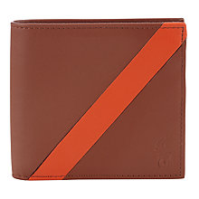 Buy Polo Ralph Lauren Leather Stripe Billfold Wallet Online at johnlewis.com