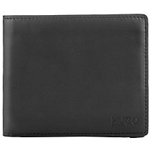 Buy BOSS Digital Leather Wallet, Black Online at johnlewis.com