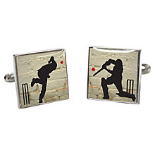 Buy TYLER & TYLER Howz That Cufflinks, White Online at johnlewis.com