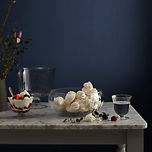 Buy John Lewis Croft Collection Hambleden Serving Glassware Online at johnlewis.com
