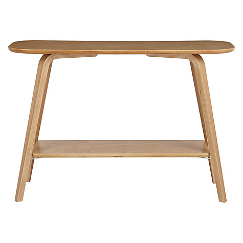 Buy house by john lewis anton console table john lewis for Sofa table john lewis