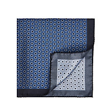 Buy HUGO Flower Silk Pocket Square Online at johnlewis.com