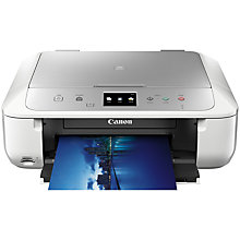Buy Canon PIXMA MG6853 All-In-One Wireless Wi-Fi Printer with Colour Touch Screen Online at johnlewis.com