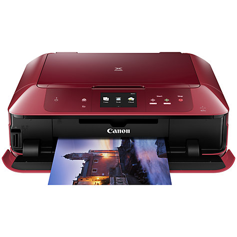 buy canon pixma mg7752 all in one wireless wi fi nfc printer with colour touch screen john lewis. Black Bedroom Furniture Sets. Home Design Ideas