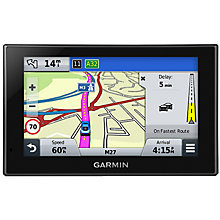 "Buy Garmin Nuvi 2569LMT-D Bluetooth Sat Nav, Western Europe with Free Lifetime Updates, Digital Traffic & 5"" Touch Screen Online at johnlewis.com"
