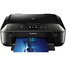 Buy Canon PIXMA MG6850 All-In-One Wireless Wi-Fi Printer with Colour Touch Screen Online at johnlewis.com