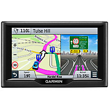 Buy Garmin Nuvi 57LM Sat Nav with Lifetime Map Updates, UK & Republic of Ireland Online at johnlewis.com