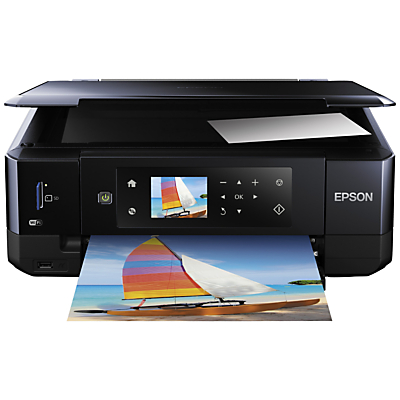Image of Epson Expression Premium XP-630 All-In-One Wireless Printer, Black