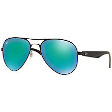 Buy Ray-Ban RB3523 Aviator Sunglasses Online at johnlewis.com
