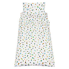 Buy little home at John Lewis Confetti Brushed Cotton Duvet Cover, Pillowcase and Fitted Sheet Set, Single Online at johnlewis.com