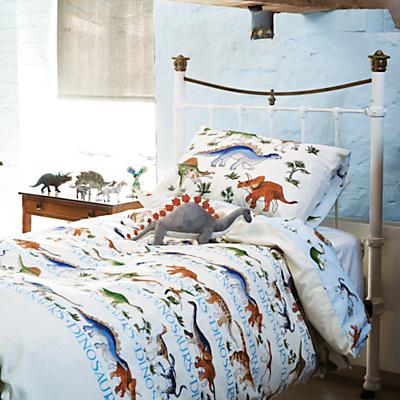 Emma Bridgewater Dinosaur Single Duvet Cover and Pillowcase Set