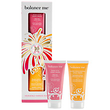 Buy Balance Me Heavenly Hands Duo Christmas Set, 2 x 30ml Online at johnlewis.com