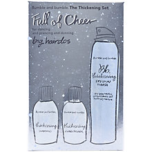 Buy Bumble and bumble 'Full of Cheer' Thickening Haircare Gift Set Online at johnlewis.com