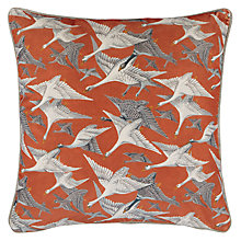 Buy Mulberry Home Wild Geese Velvet Cushion Online at johnlewis.com