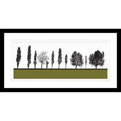 Jacky Al-Samarraie – Armley, Framed Print, 44 x 84cm