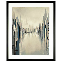 Buy Gregory Lang - Metropolitan Afternoon, Framed Print, 59 x 49cm Online at johnlewis.com