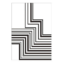 Buy Denise Duplock - Zigzag Unframed Print with Mount, 40 x 30cm Online at johnlewis.com