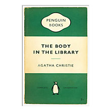 Buy Penguin Books - The Body in the Library Unframed Print with Mount, 40 x 30cm Online at johnlewis.com