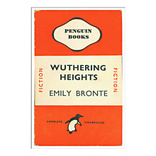Buy Penguin Books - Wuthering Heights Unframed Print with Mount, 40 x 30cm Online at johnlewis.com