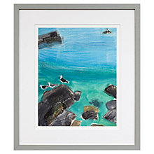 Buy Emma Jeffryes - Crab Rock Seagulls, H42 x W35cm Online at johnlewis.com