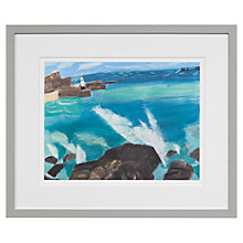 Buy Emma Jeffryes - Waves Crashing, H42 x W35cm Online at johnlewis.com