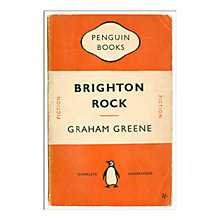 Buy Penguin Books - Brighton Rock Unframed Print with Mount, 40 x 30cm Online at johnlewis.com