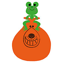 Buy Sean Sims - Frog Space Hopper Unframed Print, 40 x 30cm Online at johnlewis.com
