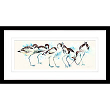 Buy Liz Chaderton - Early Bird, Framed Print, 33 x 63cm Online at johnlewis.com
