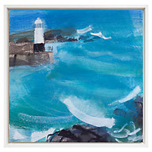 Buy Emma Jeffryes - Watching Winter Seas, H66 x W66cm Online at johnlewis.com