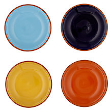 Buy John Lewis Alfresco Tapas Plates, Plain, Set of 4 Online at johnlewis.com