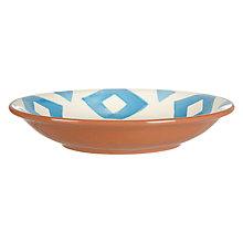 Buy John Lewis Alfresco Pasta Bowl, Patterned Online at johnlewis.com