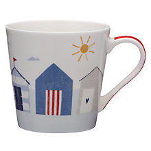 Buy John Lewis Coastal Beach Huts Mug Online at johnlewis.com