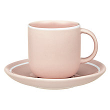 Buy John Lewis Puritan Espresso Cups and Saucers, Set of 4 Online at johnlewis.com