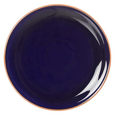 John Lewis Alfresco Dinner Plate, Blue