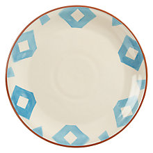 Buy John Lewis Alfresco Dinner Plate, Patterned Online at johnlewis.com