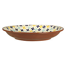 Buy John Lewis Alfresco Salad Bowl, Patterned Online at johnlewis.com