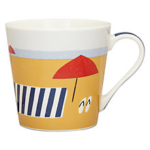 Buy John Lewis Coastal Beach Scene Mug Online at johnlewis.com
