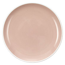 Buy John Lewis Puritan Tapas Plates, Set of 4, Pink Online at johnlewis.com