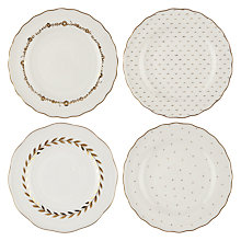 Buy John Lewis Garden Party Plates, Set of 4 Online at johnlewis.com