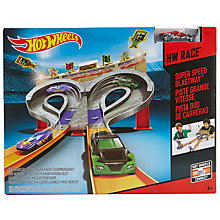 Buy Hot Wheels Race Super Speed Blastway Toy Online at johnlewis.com