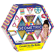 Buy West Designs Geometric Jewelry Craft Kit Online at johnlewis.com