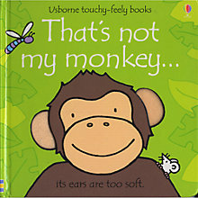 Buy Usborne That's Not My Monkey Touchy-Feely Book Double Pack Online at johnlewis.com