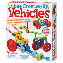 Buy Tubee Vehicles Creative Kit Online at johnlewis.com