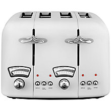 Buy De'Longhi Argento CT04 4-Slice Toaster Online at johnlewis.com