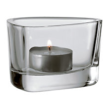 Buy Leonardo Organic Tealight Holder Online at johnlewis.com