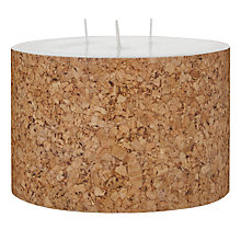 Buy House by John Lewis Cork Candle, H10 x Dia.15cm Online at johnlewis.com